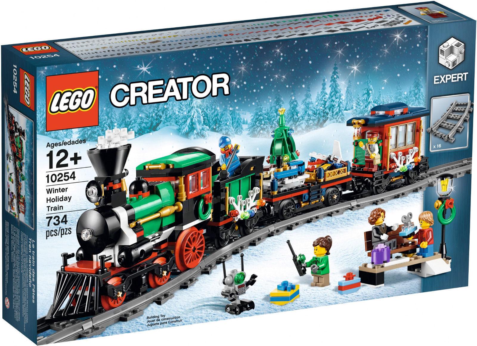 LEGO CREATOR EXPERT 10254 TRENO DI NATALE   NUOVO