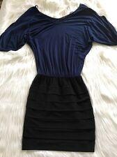 Guess Women's Black Blue Dress Small