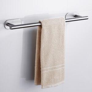 Details zu Handtuchstange EDELSTAHL Handtuchhalter Bad Handtuchständer  Badezimmer Handtuch