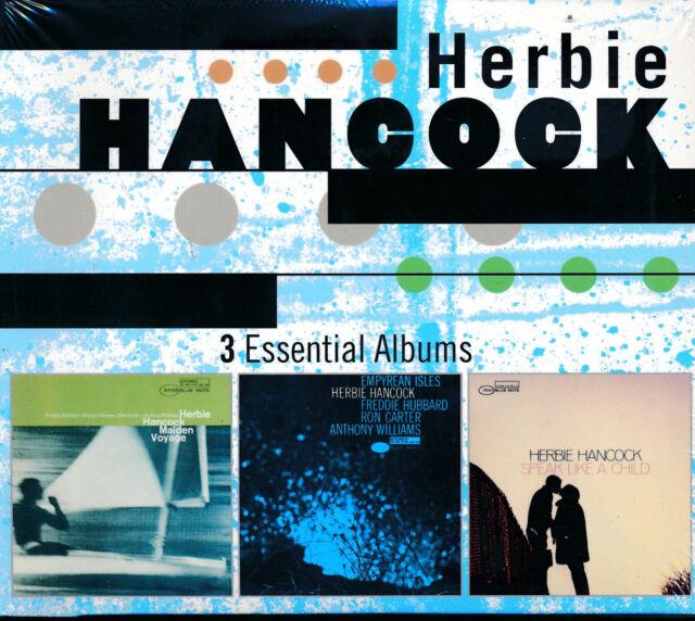 Herbie Hancock 3 Essential Albums CD NEW Maiden Voyge Empyrean Isles