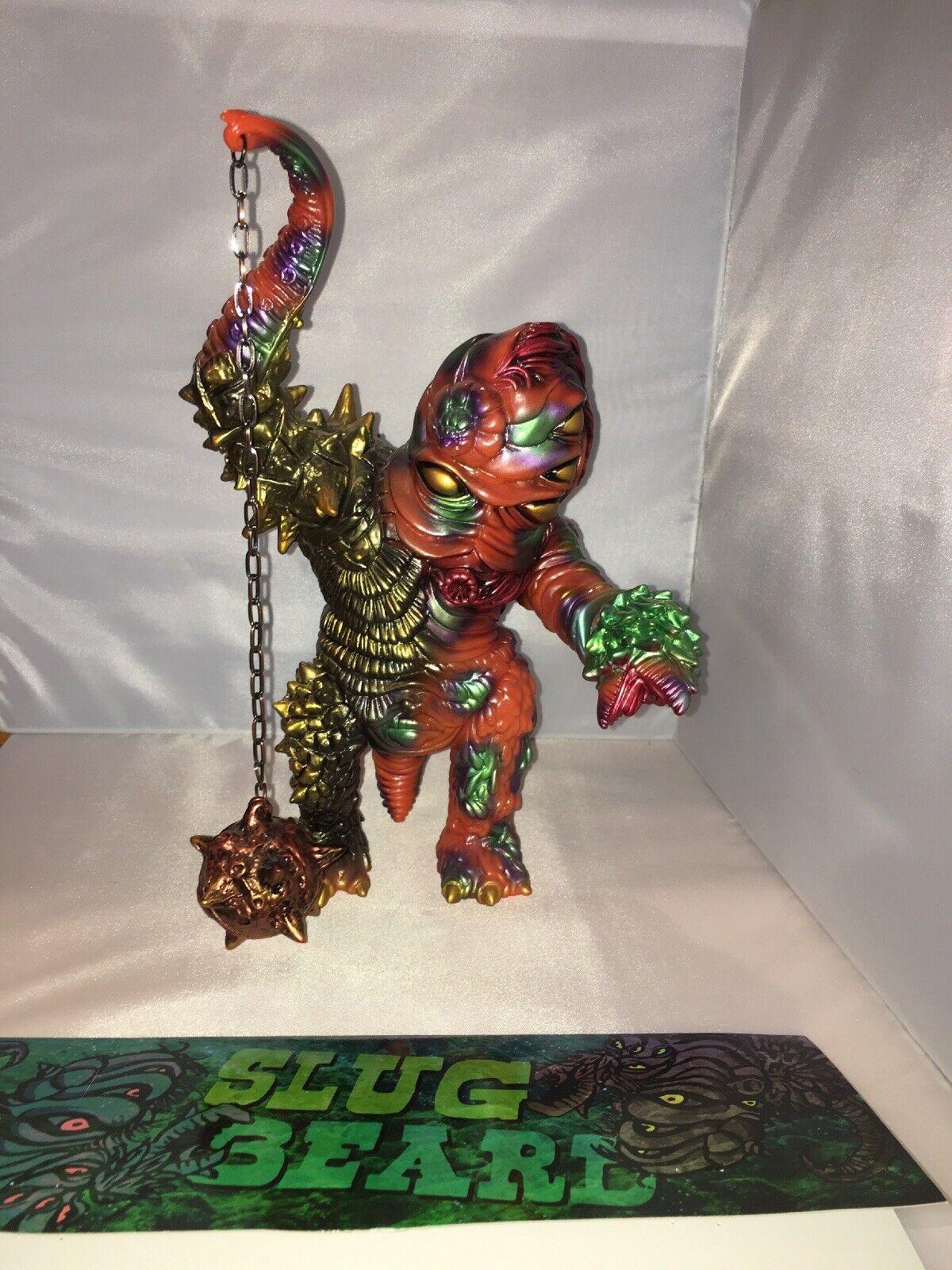 Paul Kaiju x Toy Art Art Art Gallery Slugbeard Astro Jungle Version Kaiju Sofubi 4fa479