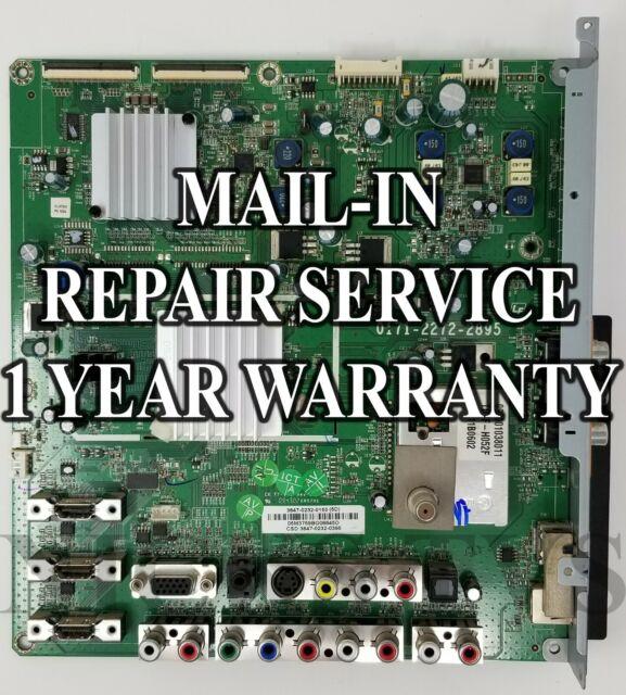 Mail-in Repair Service Vizio VL470M Main Board 3647-0202-0150 0171-2272-2895