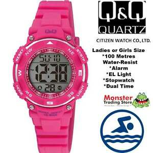 AUSSIE-SELLER-LADIES-DIGITAL-WATCH-CITIZEN-MADE-M149J006-100M-P-99-95-WARRANTY