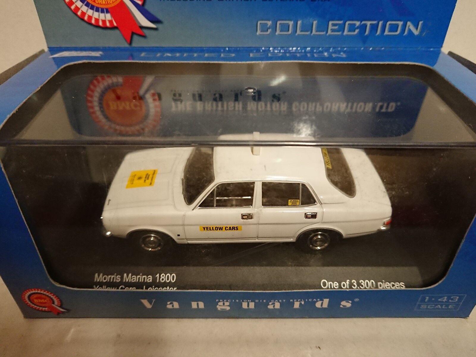Corgi VA06307 Morris Marina 1800 Yellow Cars Leicester Ltd Ltd Ltd Edition of 3300 f3fa84