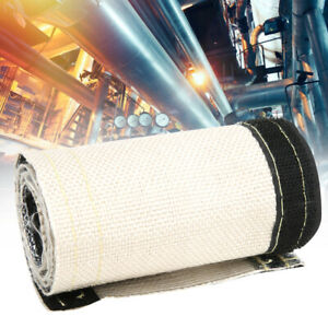 Metallic-Heat-Shield-Sleeve-Insulated-Wire-Hose-Cover-Wrap-Loom-Tube-1-32in