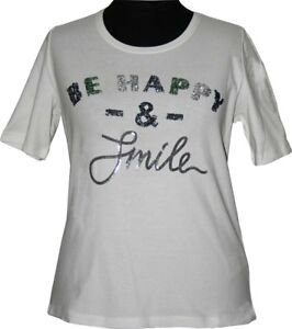 Happy Appia Via be Due 50 T taglia White paillettes allegra Con shirt PddBnr1qvw