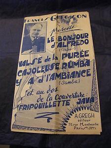 Partition-le-Bonjour-D-039-Alfredo-Waltz-La-Puree-Gregson-Music-Sheet