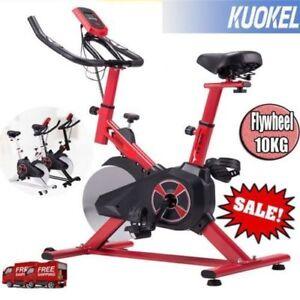 Digital Bicicleta Estática Spinning Ergonomica Regulable Pantalla 22lb Volante