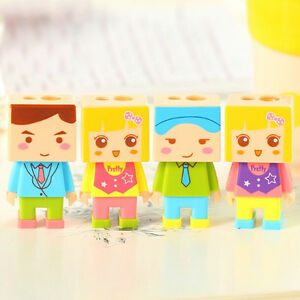 Stationery-Child-Pencil-Sharpener-with-One-Rubbers-Eraser-Students-Kid-Hf