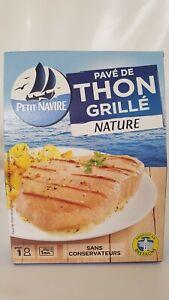 """SincèRe Petit Navire"""", Grillées Thon Naturel 120 G-afficher Le Titre D'origine Forte RéSistance à La Chaleur Et à L'Usure"""