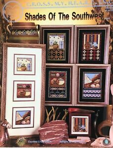 Shades-of-the-Southwest-CSB-226-Cross-My-Heart-Cross-Stitch-Pattern-Native-OOP