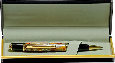 Gatsby Pen with Bocote wood and 24K Gold Plated Accents