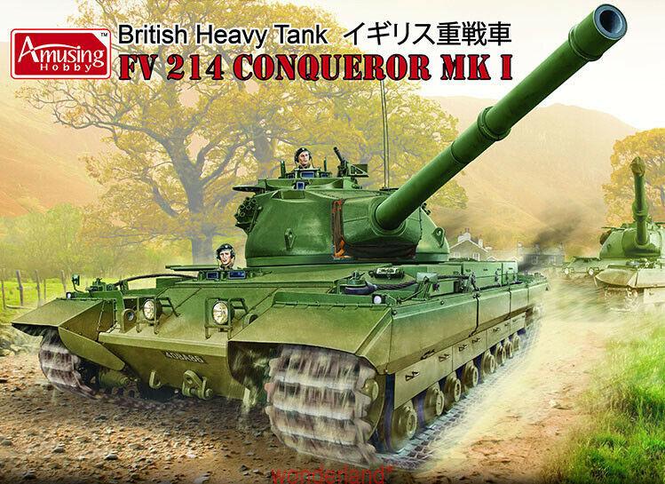 Amusing Hobby 35A006 1 35 British Heavy Tank FV214 Conqueror Mk.I