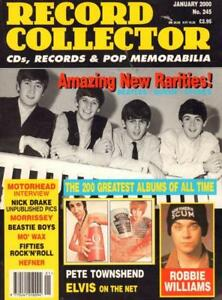 No-245-Jan-2000-The-Beatles-Robbie-Williams-Magazine-Record-Collector-VG