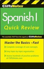CliffsNotes Spanish I Quick Review, 2nd Edition (Cliffs Quick Review (Paperback)