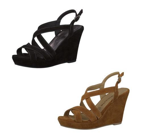 Echt Tamaris Sandalen Leder Größe Damen 40 Sandaletten