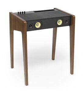 La Boite Concept Ld 130 Bluetooth Tavolino Dockstation Per Pc E Mac Noce Ebay