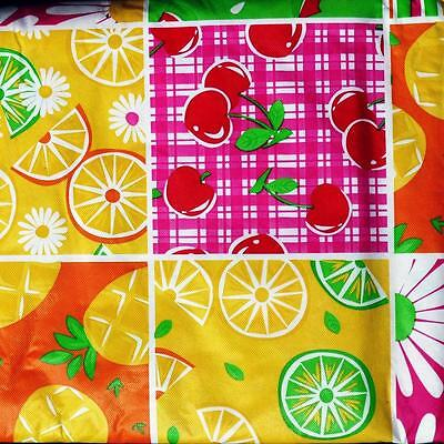 52x70 Oblong VINYL TABLECLOTH~Flannel Back~Flowers//Birthday//Easter//Retro~NEW