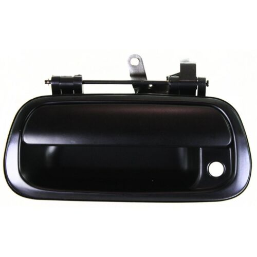 NEW Rear Tailgate Handle Black Smooth w// keyhole for 2000-2006 Toyota Tundra
