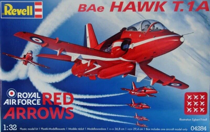 Revell 1 32 BAE Hawk T1A Red Arrows
