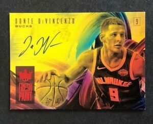 2018-19-Donte-DiVincenzo-Fresh-Paint-Panini-Court-Kings-Ruby-26-99-Auto-Rookie