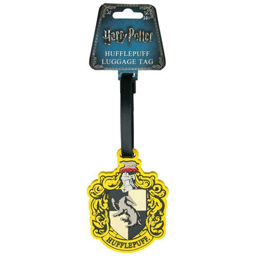 Harry Potter Hufflepuff Luggage Tag NEW