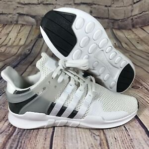 Image is loading Adidas-EQT-Support-Running-Shoes-Crystal-White-Grey- 3e7c72124