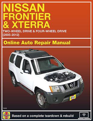 Motors Service & Repair Manuals 2012 Nissan Xterra Haynes Online ...