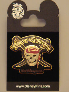 Pins-PIRATES-OF-THE-CARIBBEAN-DISNEYLAND-DISNEY-WORLD-Disney-Pin-Trading-NEUF