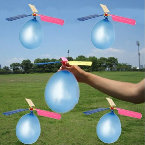 Supplies Propeller Balloon For Children Portable Flying Toy Balloon Helicopter