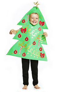 Boy-Girls-Christmas-Tree-Fancy-Dress-Up-Costume-Nativity-School-Nursery-Play-5-6