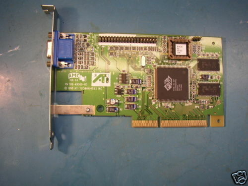 HP D7140-60002 AGP Video Card *TESTED*