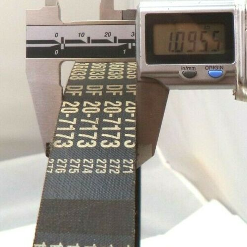 Orion 8-Ribbed 43-1//2 x 1 inch Transmission Belt p//n 020736038