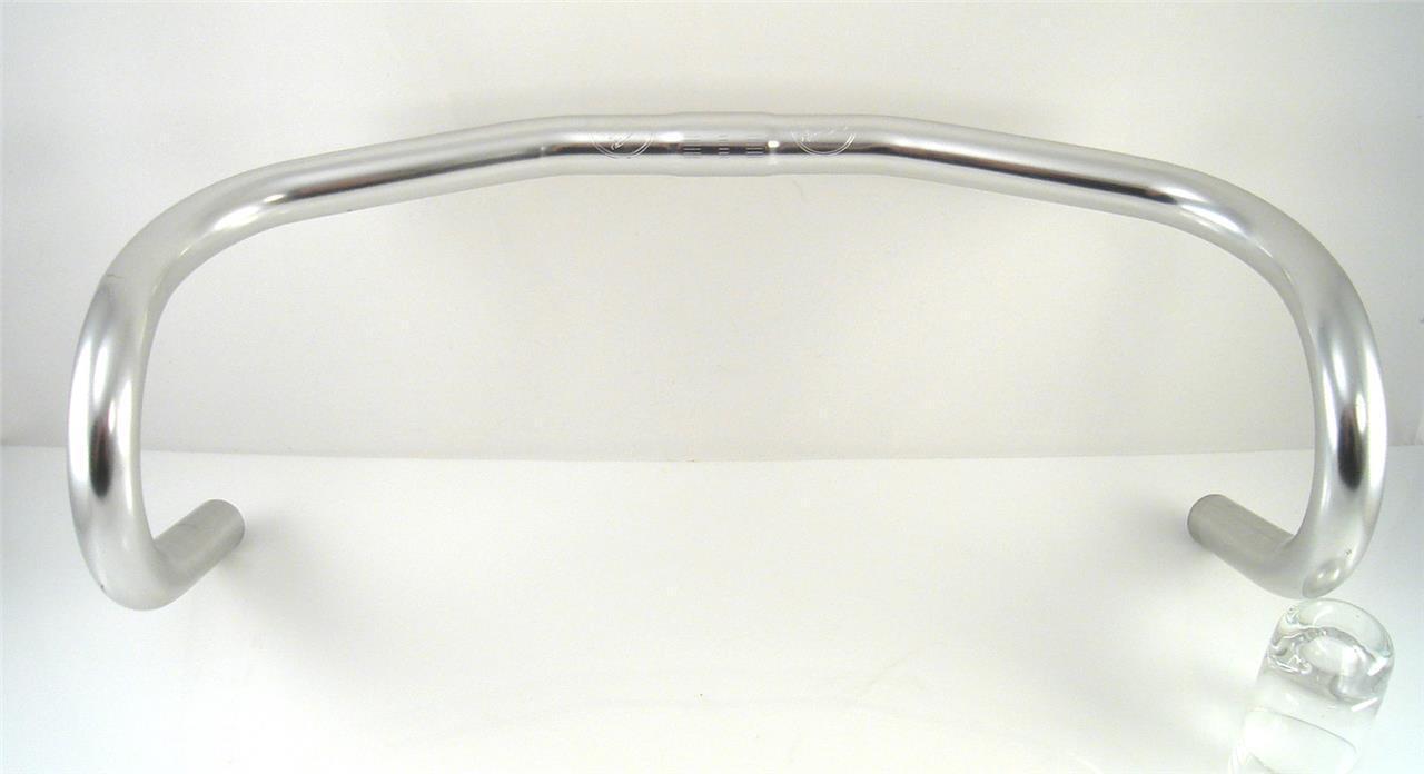 Nos 1980s 90s Philippe guidons contrarreloj Manillar de Aluminio 42cm Nuevo Track (B)