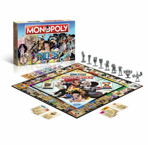 Monopoly One Piece Spiel Gesellschaftsspiel Brettspiel Anime Manga englisch