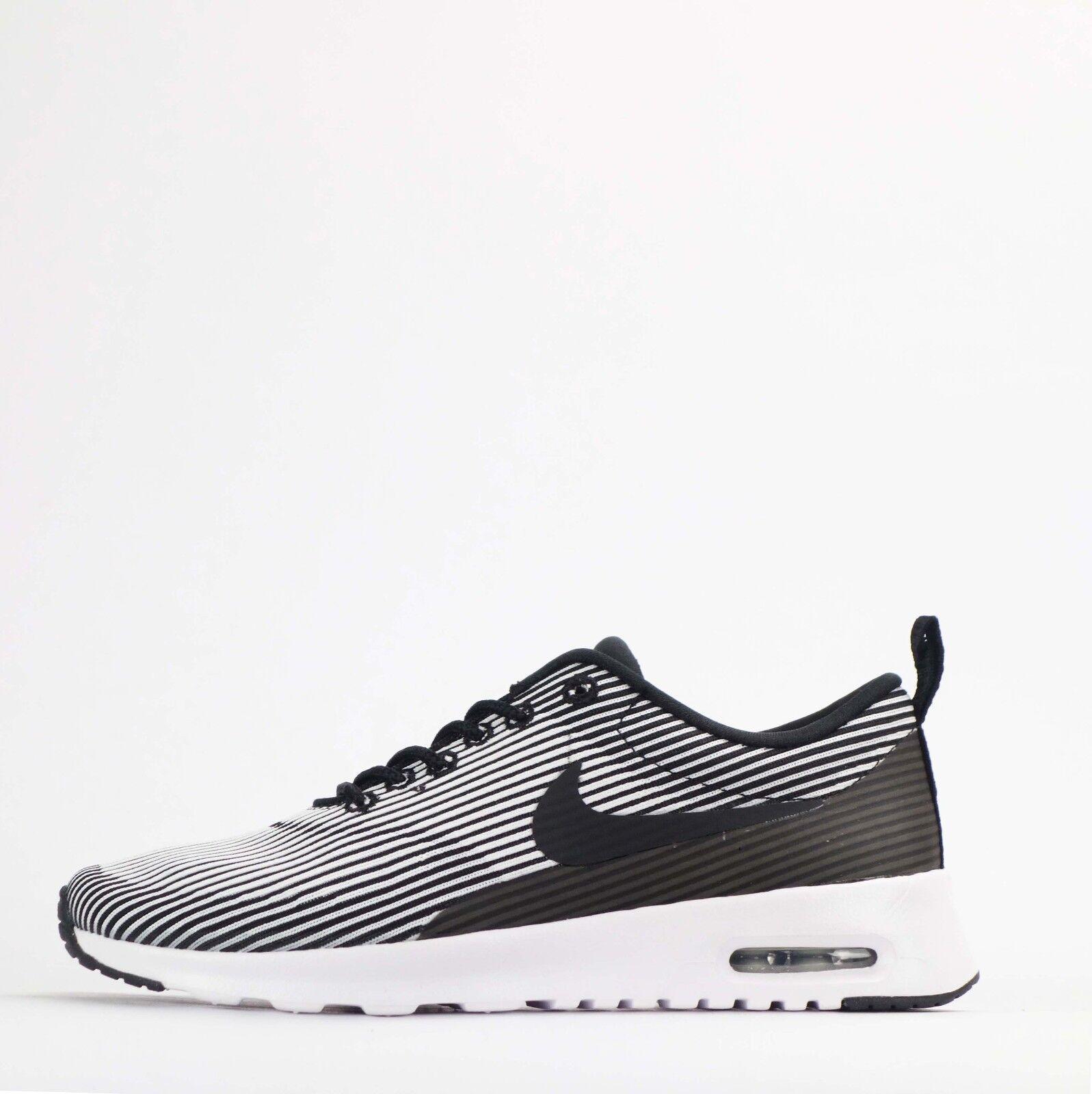Nike Air Max Thea Jacquard Womens Trainers shoes Black White