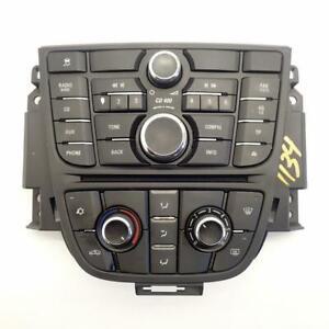 Heater-Ac-Multimedia-Control-Panel-13360091-13360099-Ref-1134-Vauxhall-Astra-J