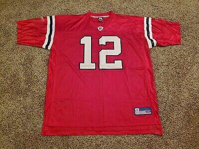 NFL Equipment Reebok Replica Tom Brady New England Patriots Jersey Mens XXL   eBay
