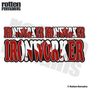 Ironworker-Canada-Flag-6-034-Decal-Sticker-Pack-Canadian-Vinyl-Hard-Hat-ZU1