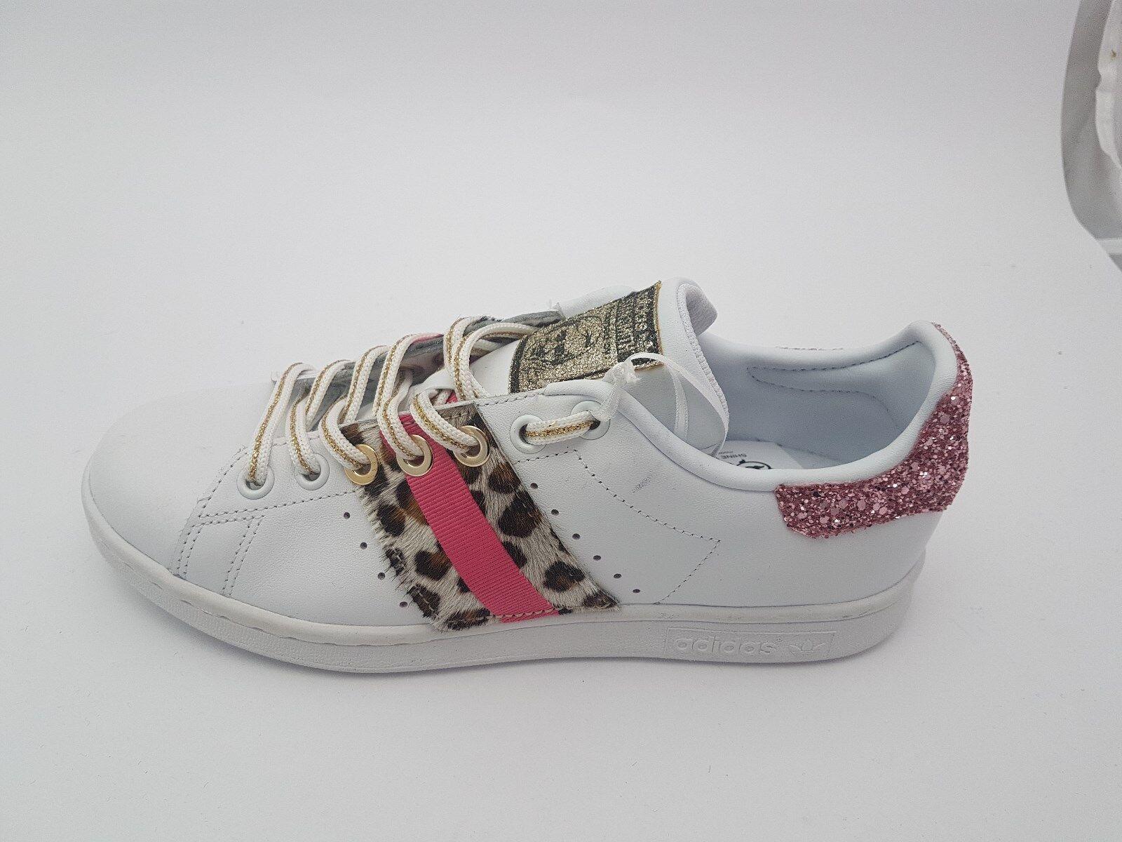 Scarpe adidas stan smith e con leopardino e smith glitter 6c6b8e