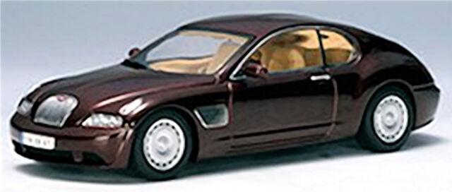 Bugatti EB 118 - 2000 Geneva Dark Red Dark Red Metallic 1:43 AUTOart