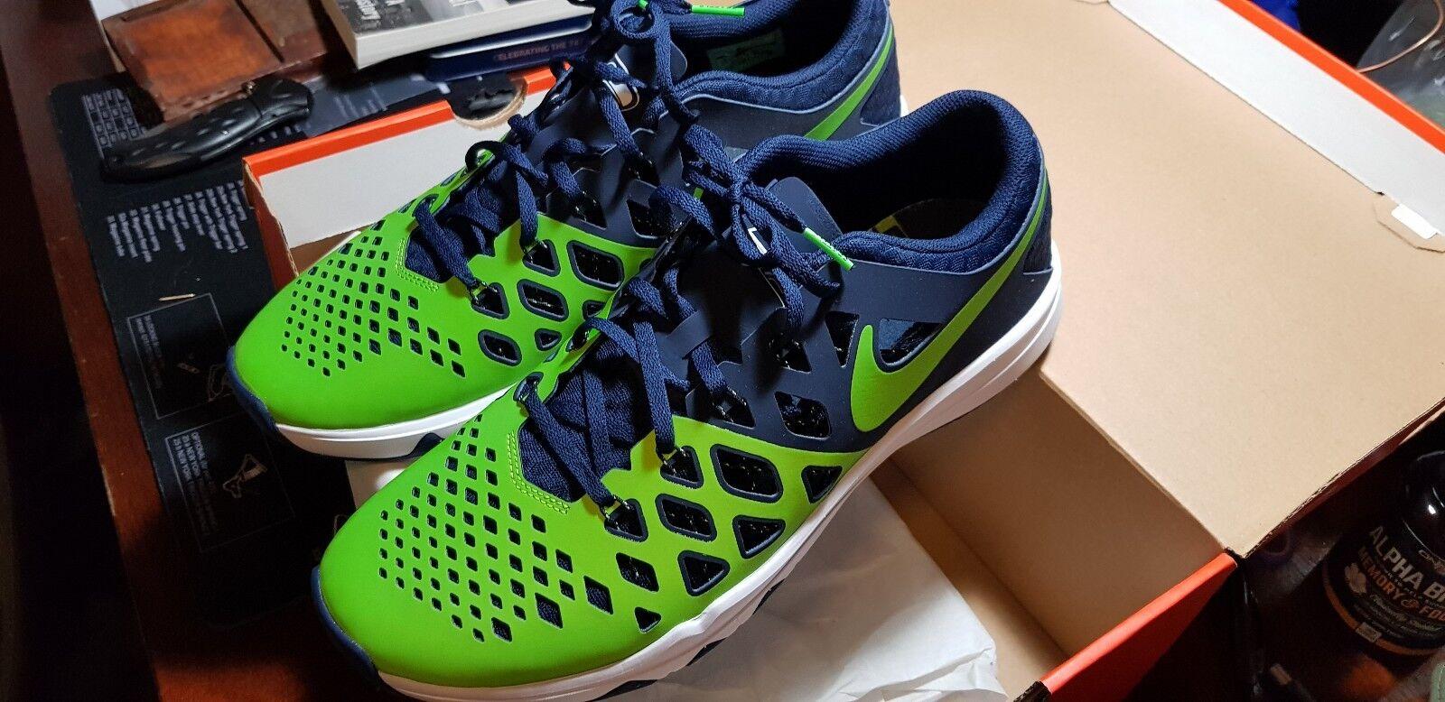 Sz 12.5 Nike Train Speed 4 AMP NFL Seattle Seahawks Athletic shoes yeezy jordan