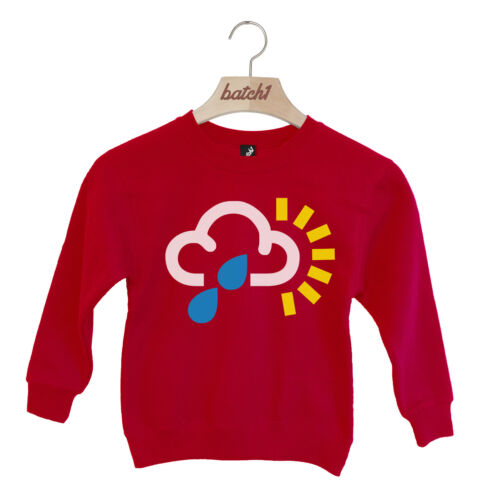 LOTTO 1 previsioni meteo simbolo British Estate Mare Bambini Felpa Maglione