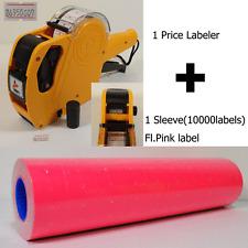 8digits Price Gun Labeler Mx 5500 10000 Pink Labels Free Ink