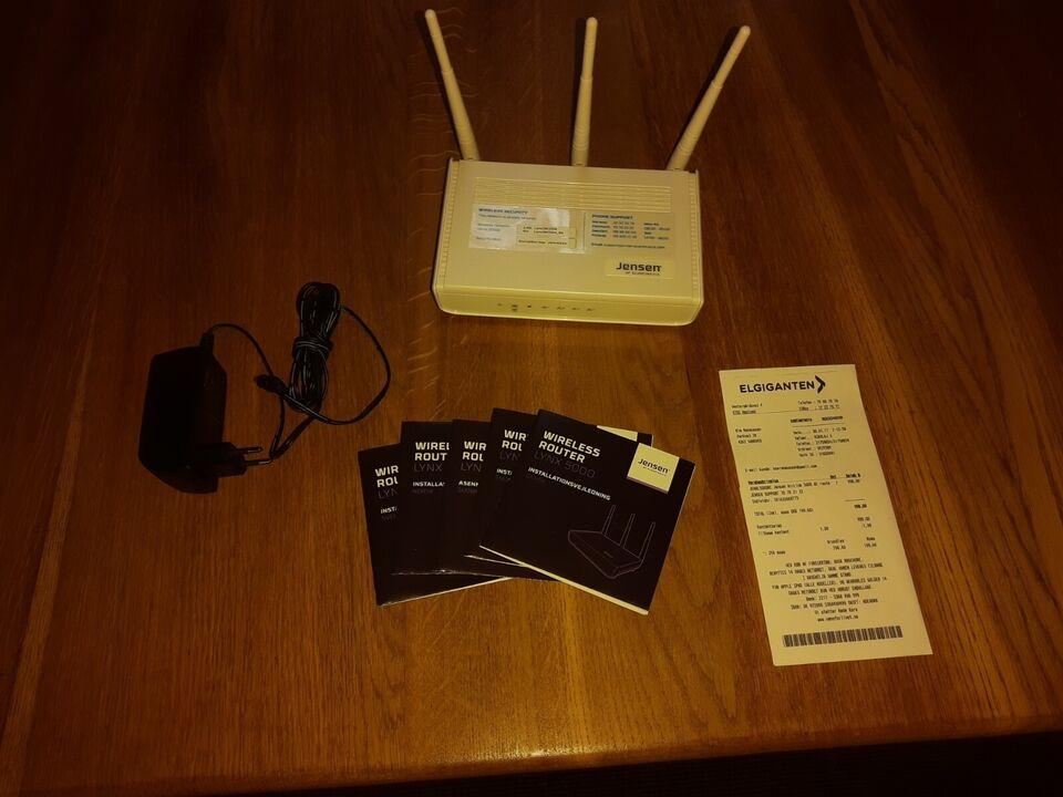 Router, wireless, Jensen
