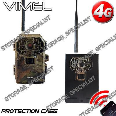 4G Trail Camera Hunting Remote 3G Waterproof Night Vision Metal Protection Box
