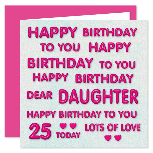 Terrific Happy 18Th Birthday Daughter Pink Girls Age 18 Verse Poem Quality Funny Birthday Cards Online Fluifree Goldxyz