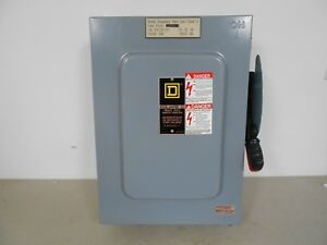 Image Is Loading Square D Hu662awk 60 Amp 600 Volt Non