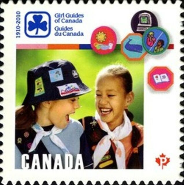 Canada  # 2402i   GIRL GUIDES CANADA    VFNH  Brand New 2010  Die Cut Issue