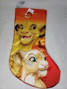 Disney-Lion-King-Christmas-Stocking-19-Inch-Simba-Nala-Authentic-Kurt-S-Adler
